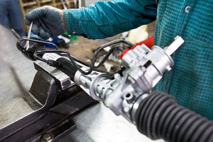 Обслуживание рулевых реек на СТО «Корса»